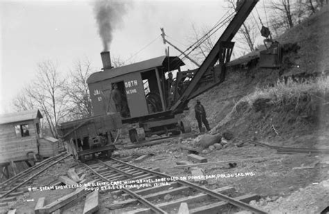 the wisconsin archeologist 1914 vol 13 classic reprint books steam shovel loading electric cars with gravel