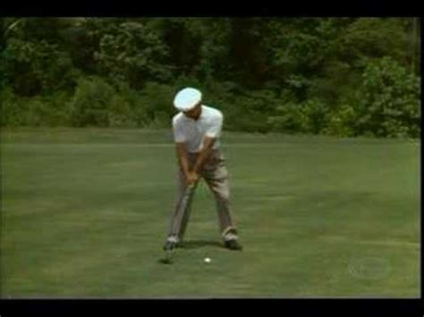 ben hogan slow motion golf swing ben hogan golf swings and history playlist