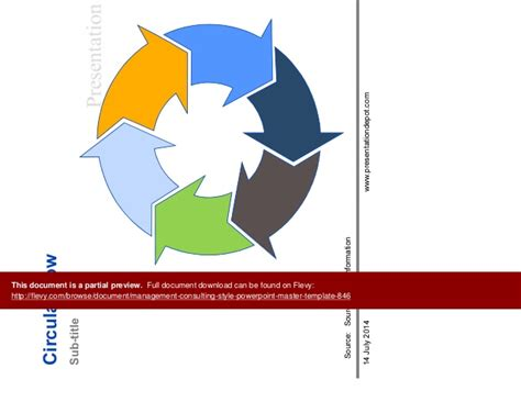powerpoint master template management consulting style powerpoint master template