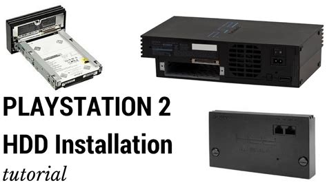 Harddisk Ps2 Install Drive Hdd In Playstation 2 Ps2 And Format