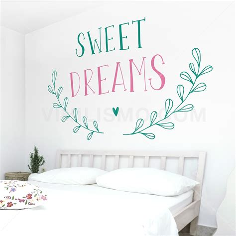sweet dreams wall stickers wall decal sweet dreams 2