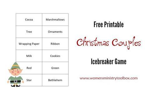 free printable christmas ice breaker games 201 best women s ministry icebreakers games images on