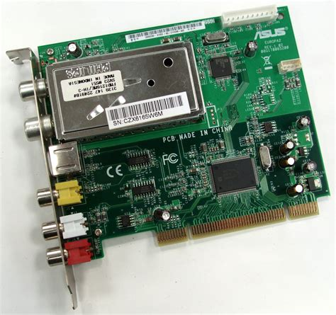 Tv Tuner Asus asus europe 2 pci dvb t digital tv tuner card hp dolphin 5188 4199 a16c d ebay