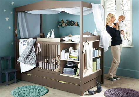 modern baby room furniture grey and blue babby nursery crib furniture