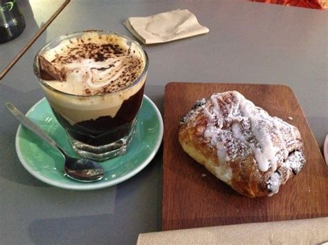 croissant, savoury, snack, sweet, coffee, tea   What is your favourite snack with a cuppa?   Image 1