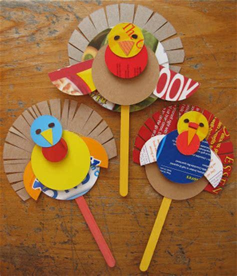 Thanksgiving Papercraft - thanksgiving cereal box turkey puppet craft preschool