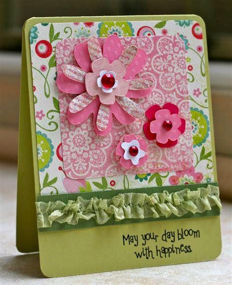 flower card ideas flower card cricut ideas