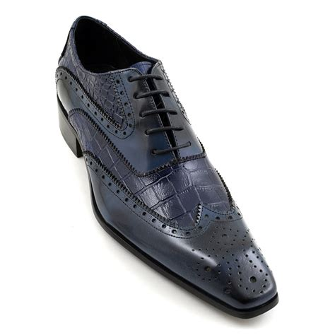 2 tone oxford shoes buy navy blue two tone oxford brogues gucinari