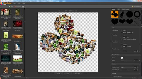 7 picture collage shape collage maker