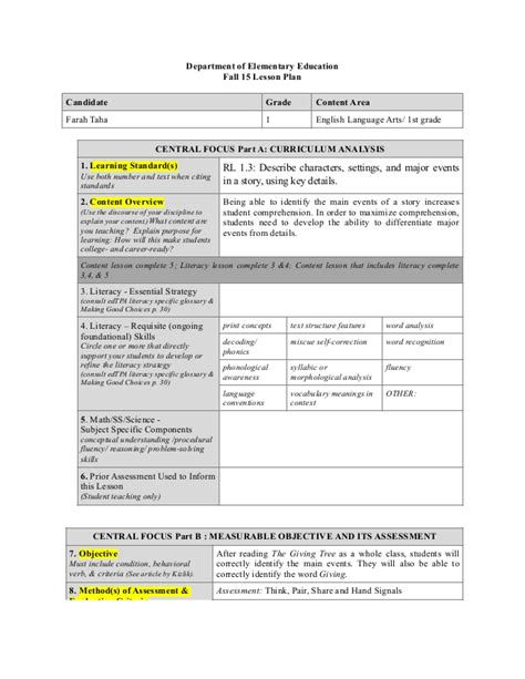 Business Plan Template For App Development 187 After School Lesson Plan Template Template After School Program Lesson Plan Template