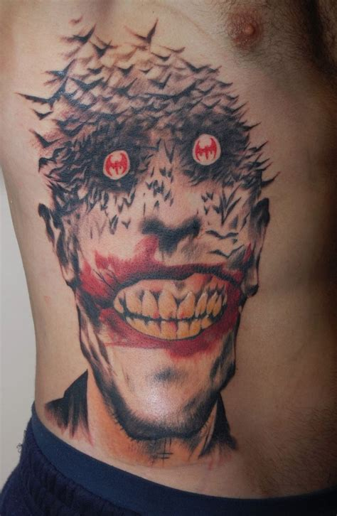 tattoo batman face spawned bat joker tattoos tobiastattoo com joker tattoo