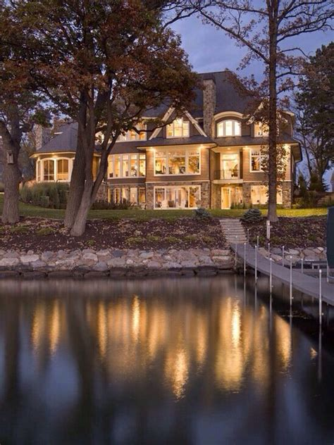 beautiful lake house when i win the lottery