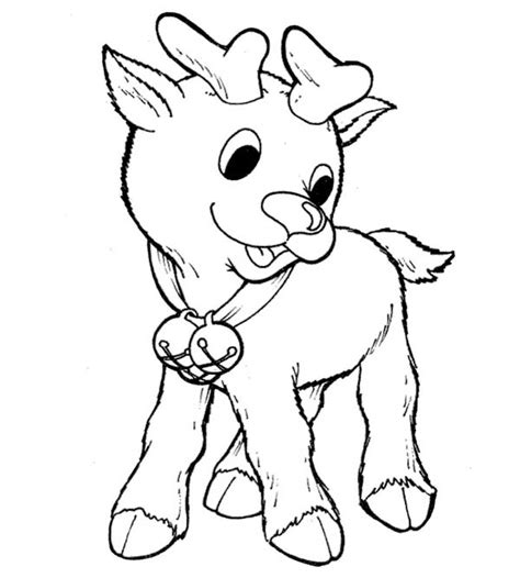 rudolph the nosed reindeer coloring pages free rednose day coloring pages