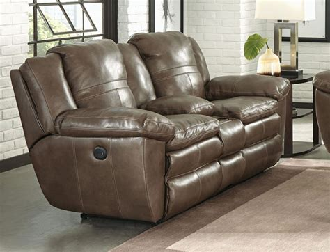 catnapper power recliner loveseat catnapper top grain italian leather lay flat power