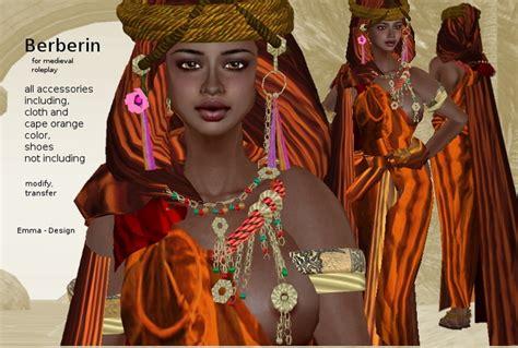 Medieval Home Decor Second Life Marketplace Berber Women