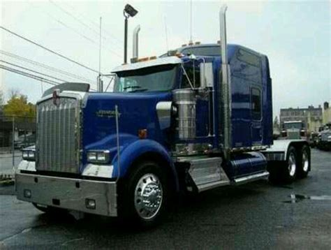 Truck Kenworth Wheels Workhorse Blue Card 87 best images about custom w900 on