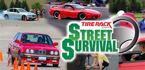 Tire Rack Driving School by A Tire Rack Survival Driver Safety Is Coming