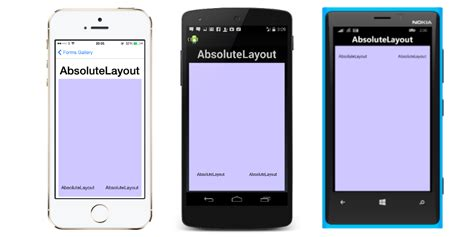 xamarin layout controls xamarin forms layouts xamarin
