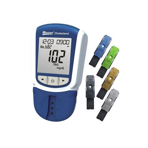 Cholesterol Meter Mission Optical Cholesterol Meter Medshop L 230 Geartikler