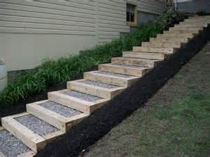 Landscape Timber Ideas Landscape Timbers Projects