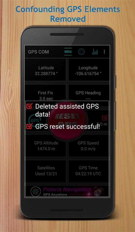 reset android gps gps reset com navigation tools repair android apps