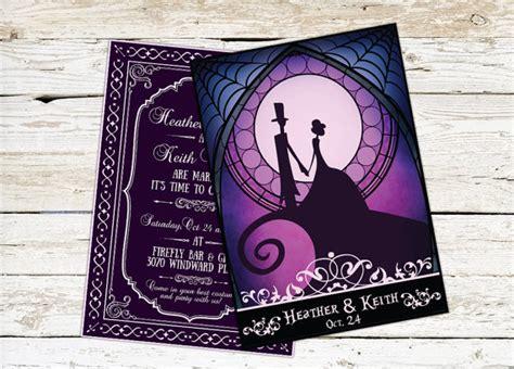 tim burton wedding invitations spooktacular wedding invitations glitter n spice