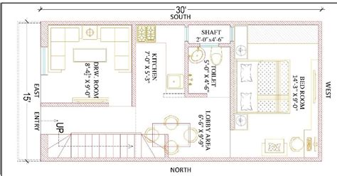 home design 15 30 15 feet by 30 feet beautiful home plan everyone will like