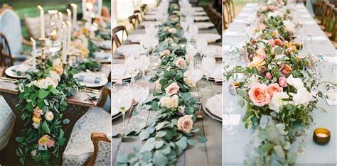Wedding Garland by 23 Wedding Trend Unique Floral Wedding Garland Table