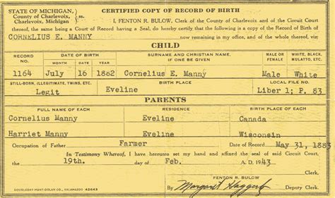 Kitsap County Marriage Records Family Of Cornelius