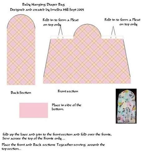 pattern for hanging diaper holder diaper holder photos and diapers on pinterest