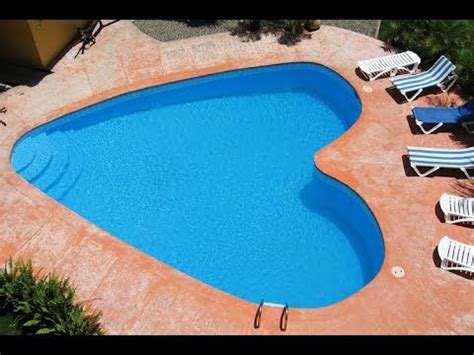 Guitar Shaped Swimming Pool swimming pools youtube