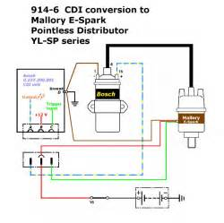 mallory dual point ignition wiring diagram electrical schematic