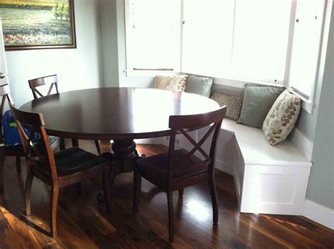 Furniture: Dining Room Fortable Banquette Seating For