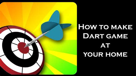 How To Make Paper Darts - how to make paper darts and dartboard or target circle and
