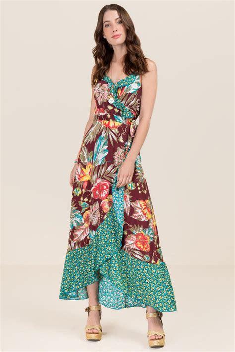 Maxi Dress Fiona fiona floral maxi dress s