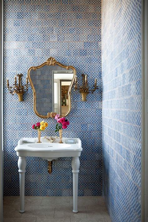 pretty tiles for bathroom 40 blue bathroom wall tile ideas and pictures