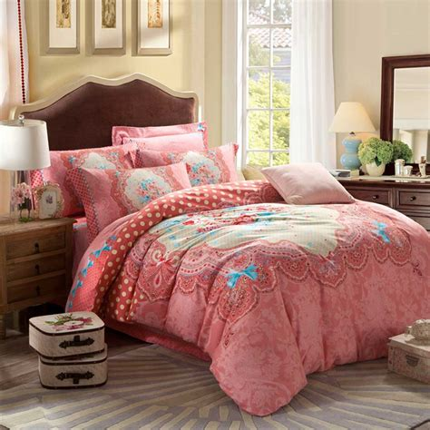 floral bed sets pink floral design full bed sets ebeddingsets