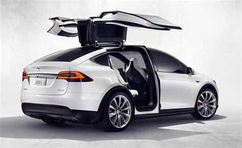 Tesla Modell X Tesla Model X Revealed Via Configurator 560kw