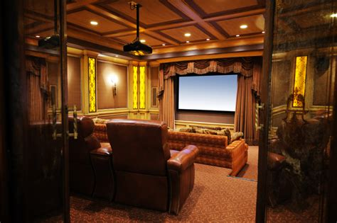 media room curtains 32 luxury home media room design ideas incredible pictures