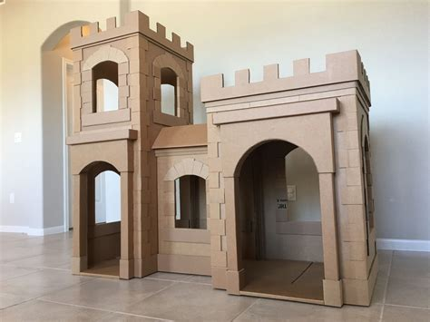 cardboard house created a new and improved cardboard castle by brandon