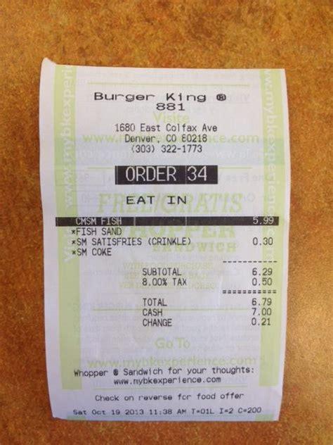 burger king receipt template expressexpense custom receipt maker receipt