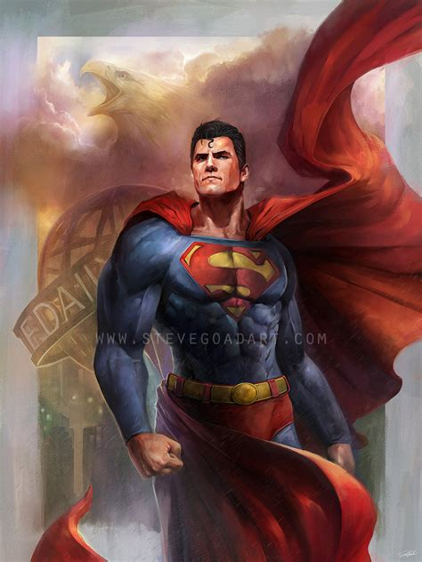 superman painting secrets of superman s by techgnotic on deviantart