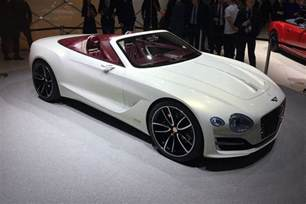 Bentley Exp All Electric Bentley Exp 12 Speed 6e Convertible At Geneva