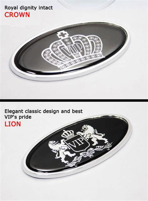 luxury car emblems luxury car emblems sticker crown logo trunk
