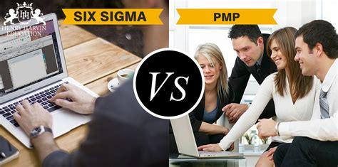 Pmp Vs Mba Vs Six Sigma by Six Sigma Vs Pmp Henry Harvin