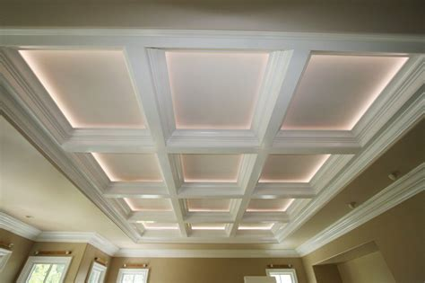 coffered ceiling lighting correctly lighting a coffered ceiling will make the room