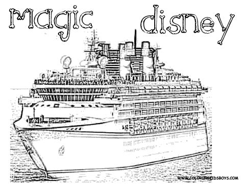 Coloring Page Disney World Coloring Home Disney Cruise Coloring Pages