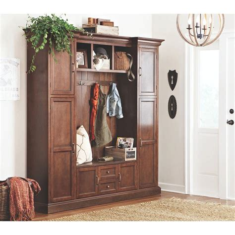 home decorators collectin home decorators collection royce smoky brown hall tree