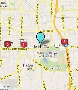 harbor city california map harbor city ca hotels motels see all discounts