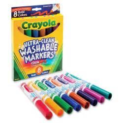 crayola color markers crayola washable bold markers cyo587832 supplygeeks